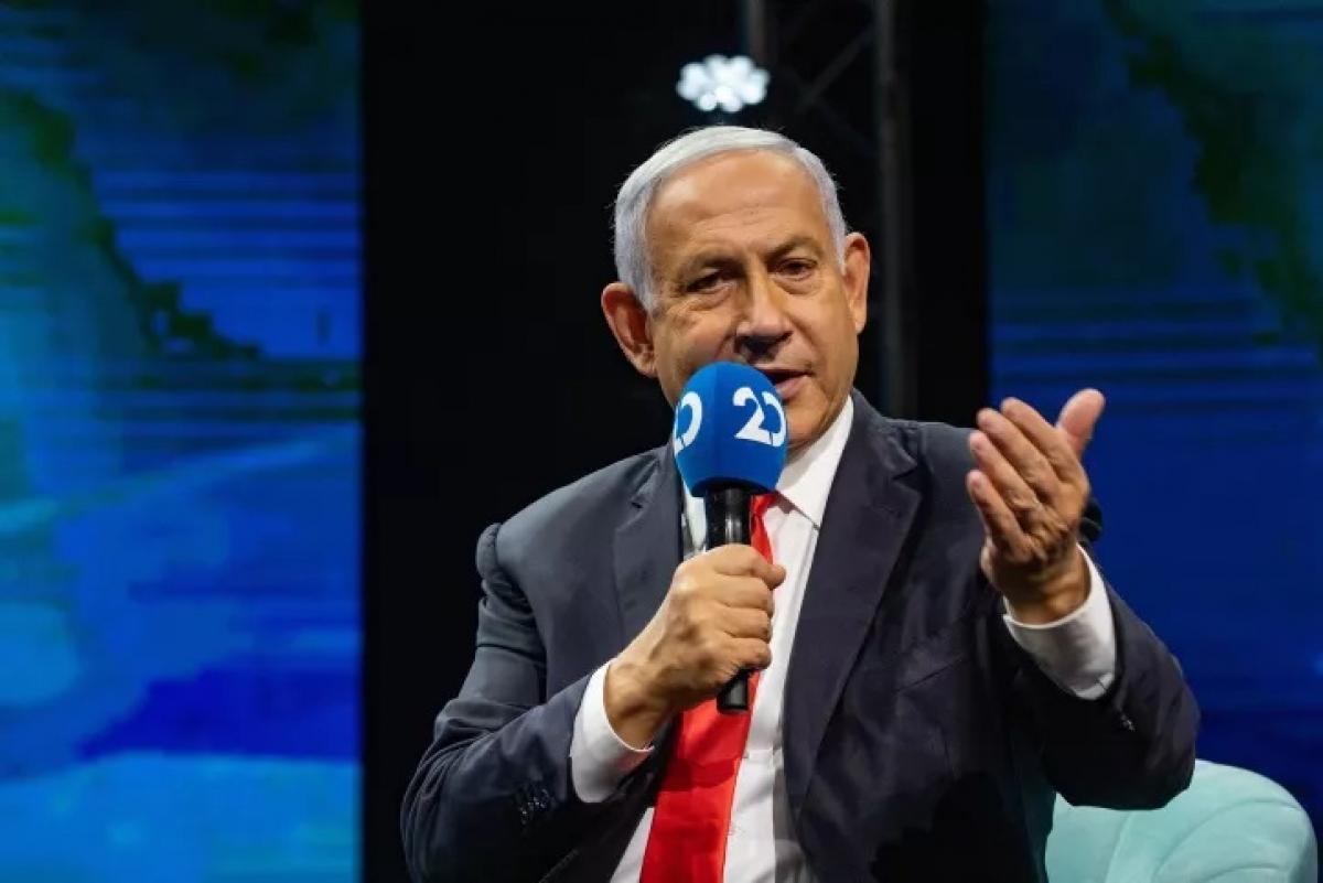 """Thủ tướng Israel Benjamin Netanyahu tuyên bố ông sẽ """"thắng kiện"""" phiên tòa xét xử ông. Ảnh: I14news"""
