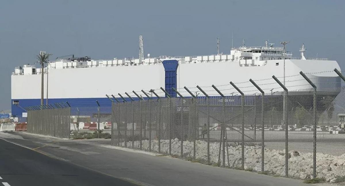 """Thủ tướng Netanyahu """"chỉ đích danh"""" Iran đứng sau vụ nổ trên tàu Israel ở Vịnh Oman. Ảnh: AP"""
