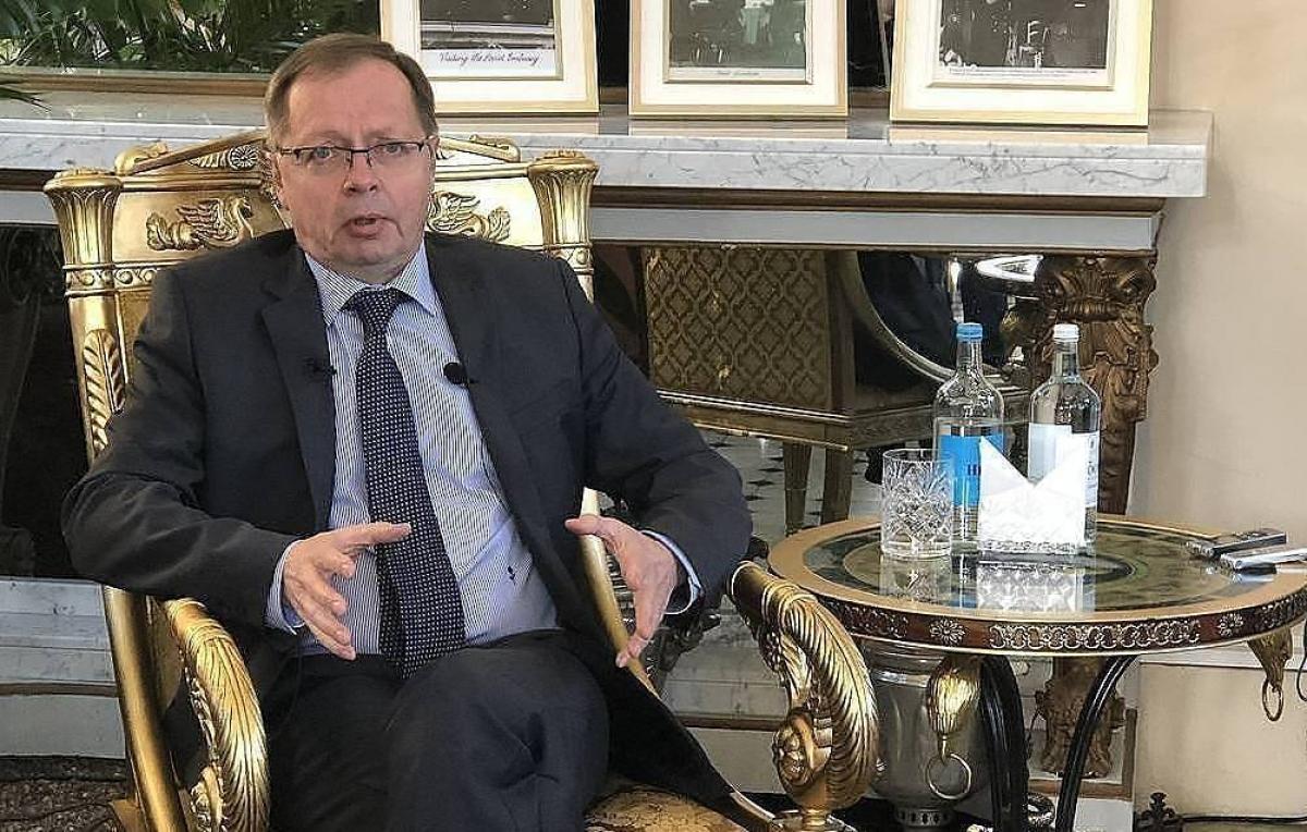 Đại sứ Nga tại London Andrei Kelin. Nguồn: Tass