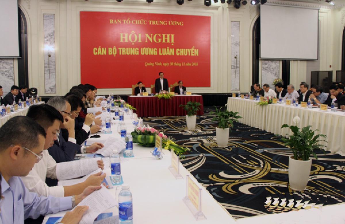 Hội nghị cán bộ Trung ương luân chuyển ở Quảng Ninh