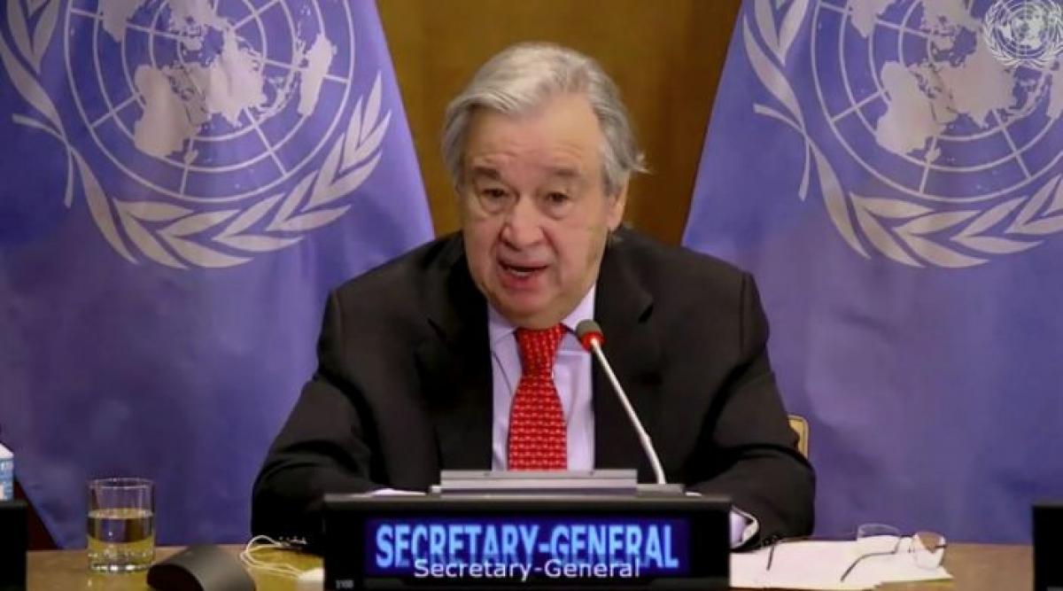 Tổng thư ký Liên Hợp Quốc Antonio Guterres. Ảnh: UNTV