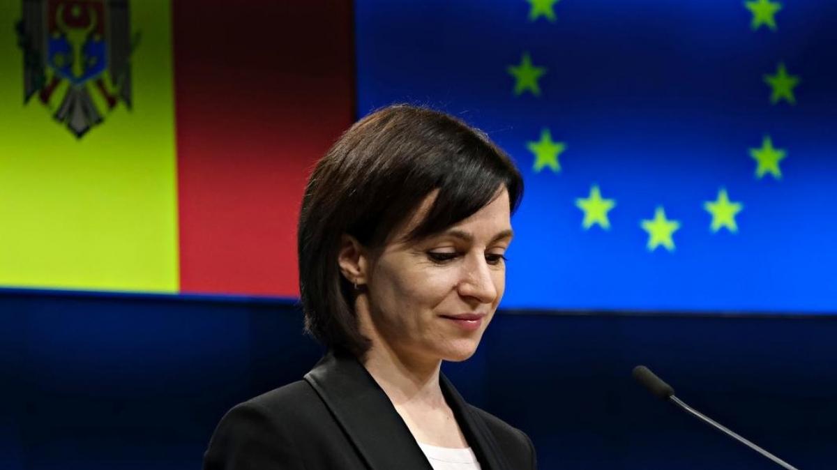 Tổng thống Moldova Maia Sandu (Ảnh: GMF)