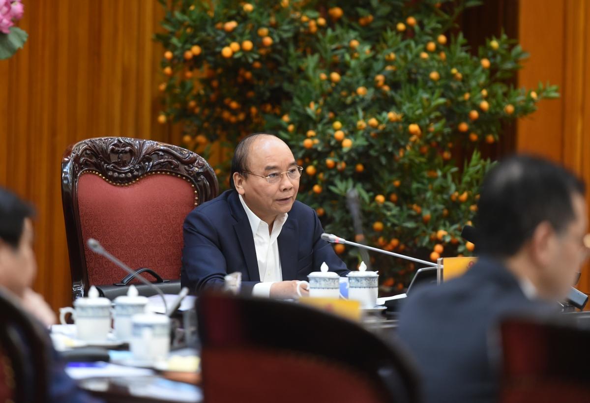Thủ tướng Nguyễn Xuân Phúc: Cơ quan hành chính quận, phường phải mạnh, là nơi lo cho dân - Ảnh: VGP/Quang Hiếu