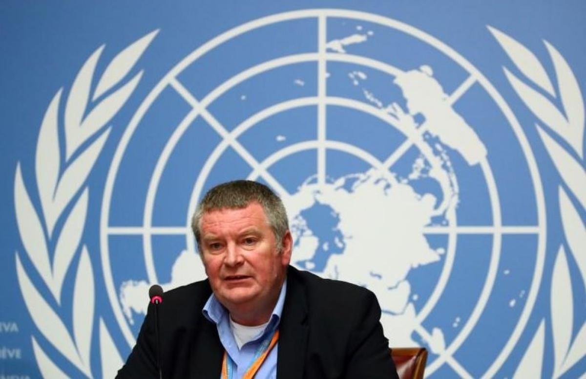 Giám đốc Chương trình Khẩn cấp của Tổ chức Y tế thế giới Mike Ryan. Ảnh: Reuters