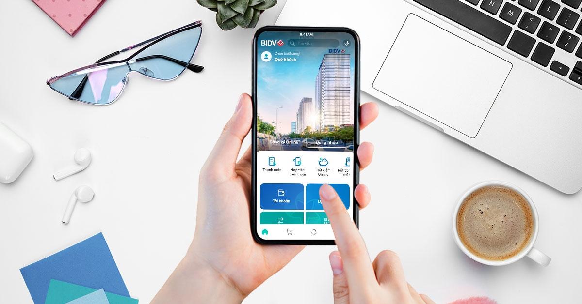 SmartBanking thế hệ mới sở hữu giao diện thân thiện, bắt mắt