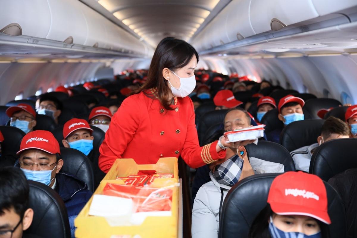 Vietjet sẽ khai thác trở lại đường bay TP.HCM - Vân Đồn với tần suất tới 4 chuyến khứ hồi mỗi tuần ngay trong tháng 3 này.