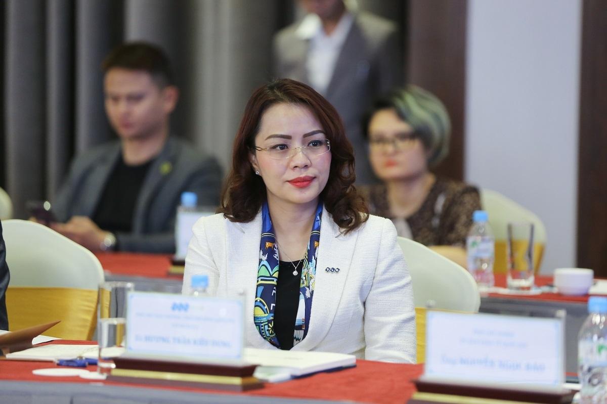 Bà Hương Trần Kiều Dung, Phó Chủ tịch thường trực của FLC