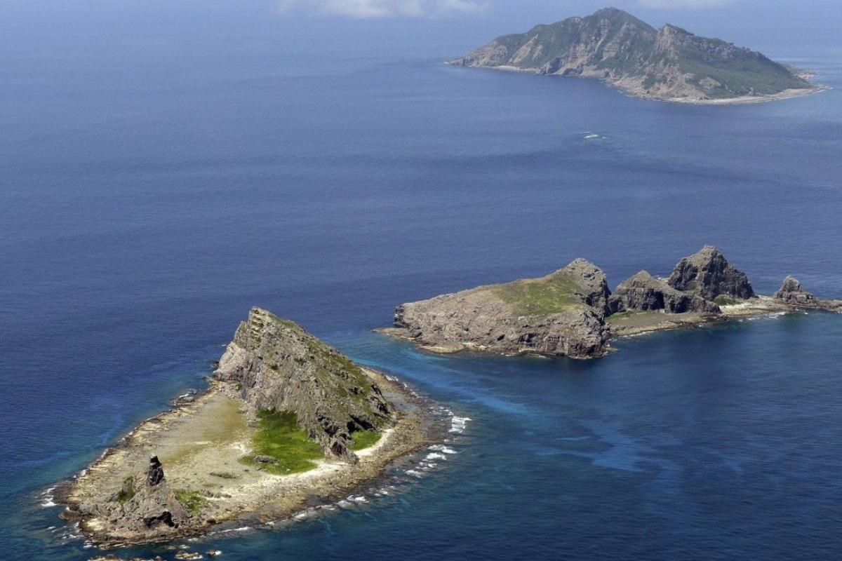 Căng thẳng gia tăng giữa Trung Quốc và Nhật Bản gia tăng liên quan đến quần đảo tranh chấp Senkaku/Điếu Ngư. Ảnh: Kyodo.