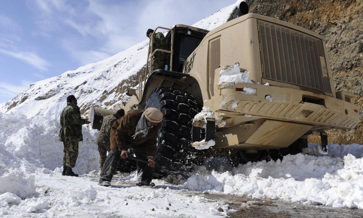 Lở tuyết nghiêm trọng ở Afghanistan khiến hơn 14 người thiệt mạng. Ảnh: IANS