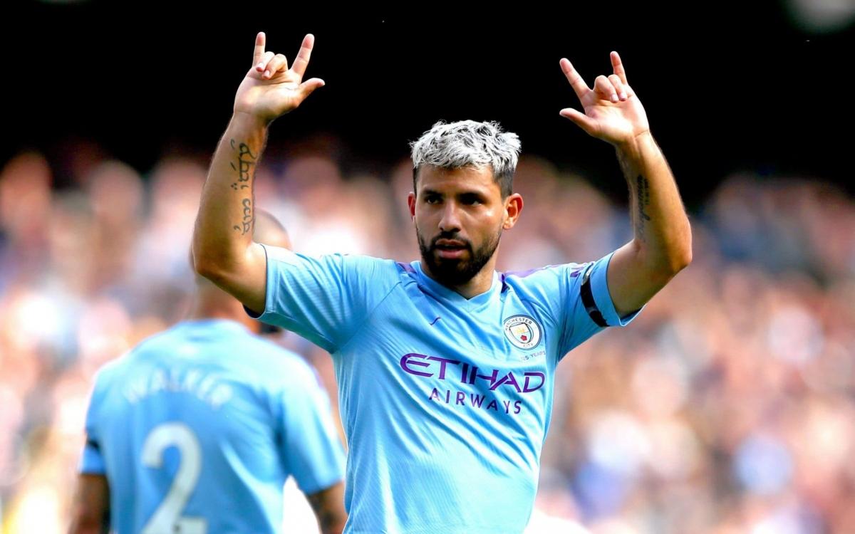 Man City chia tay Sergio Aguero sau 10 năm gắn bó. (Ảnh: Getty)