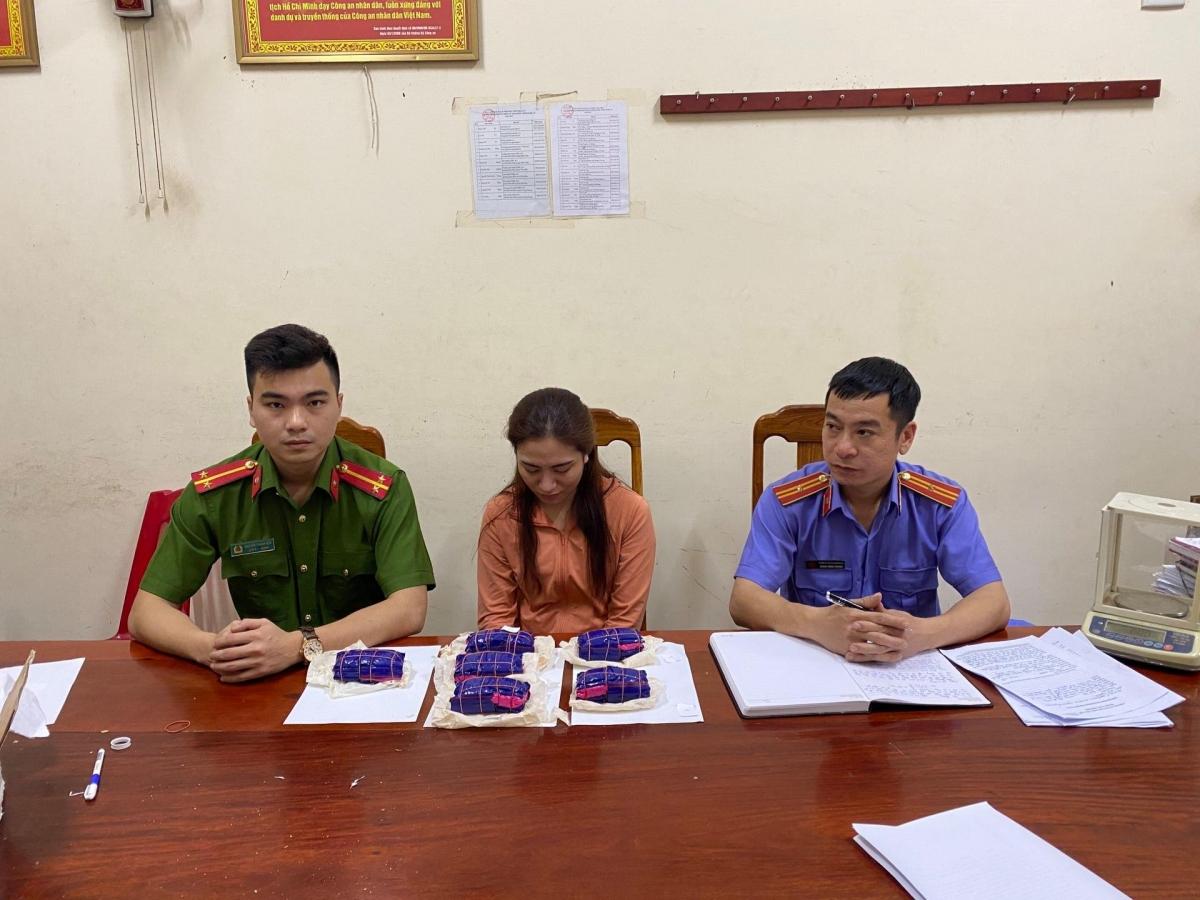 Ngô Thị Trang tại cơ quan điều tra