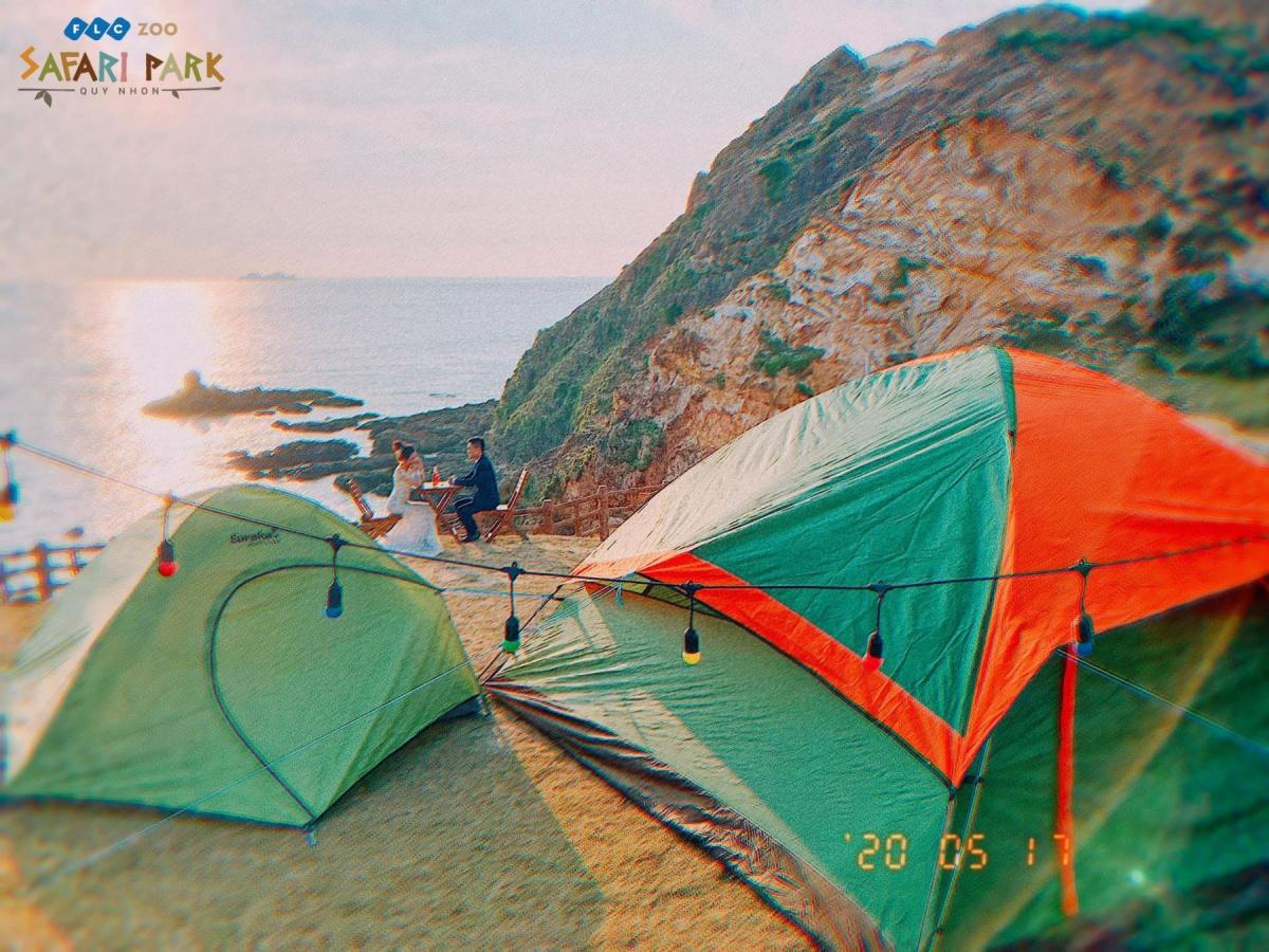 Cắm trại ngắm bình minh tại Eo Gió chính là trải nghiệm nên thử một lần trong đời. (Ảnh: Fanpage Eo Gió)