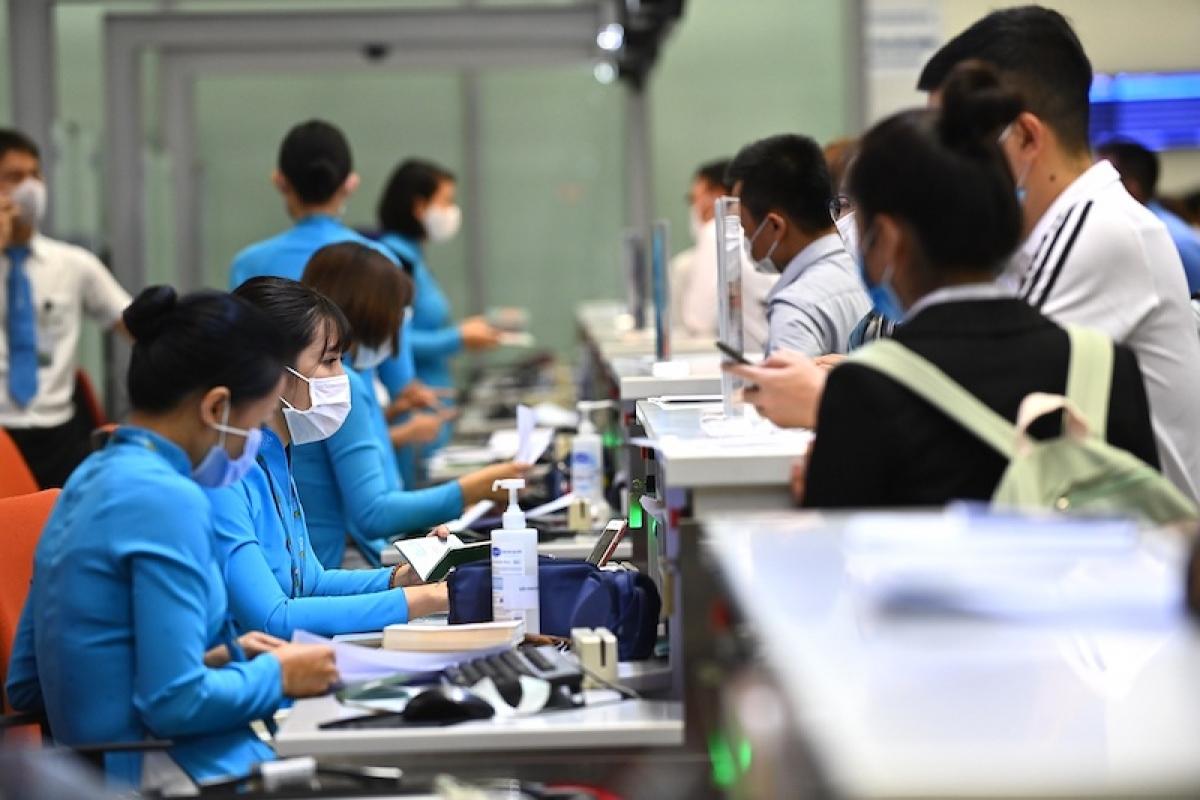 Vietnam aviation association proposes reopening borders for vaccine passport bearers. Photo: Vietnam Airlines