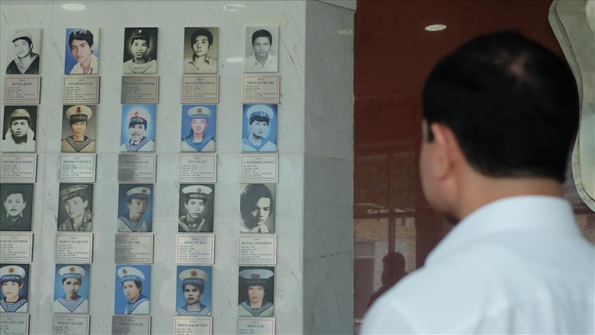 Khu tưởng niệm đã có đầy đủ di ảnh của 64 liệt sĩ Gạc Ma.