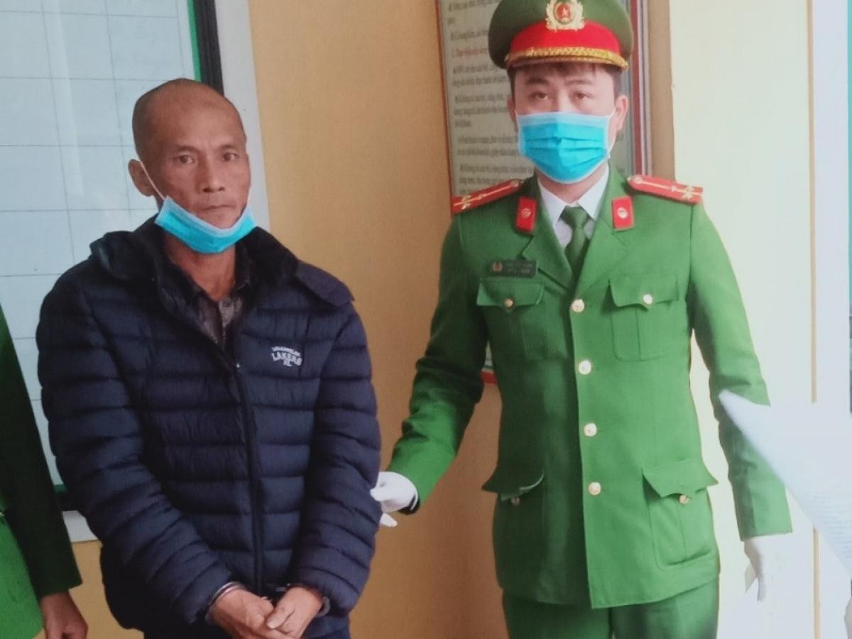 Nguyễn Ngọc Tiến tại cơ quan điều tra.