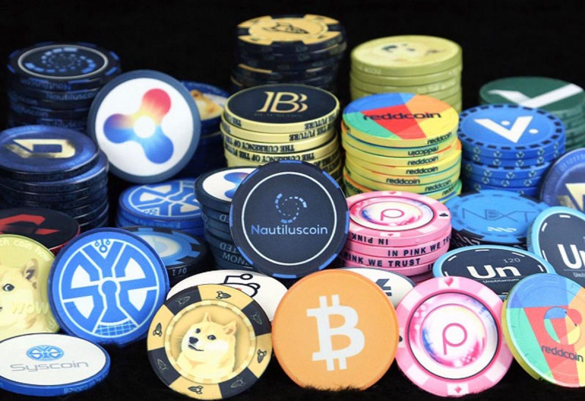 Theo pháp luật chứng khoán, tiền ảo không phải là một loại chứng khoán (Ảnh minh họa: KT)