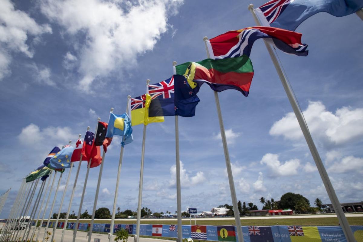 Australia sẽ đầu tư hàng trăm triệu AUD hỗ trợ phát triển hạ tầng tại các quốc đảo Thái Bình Dương trong năm 2021. Ảnh: AP