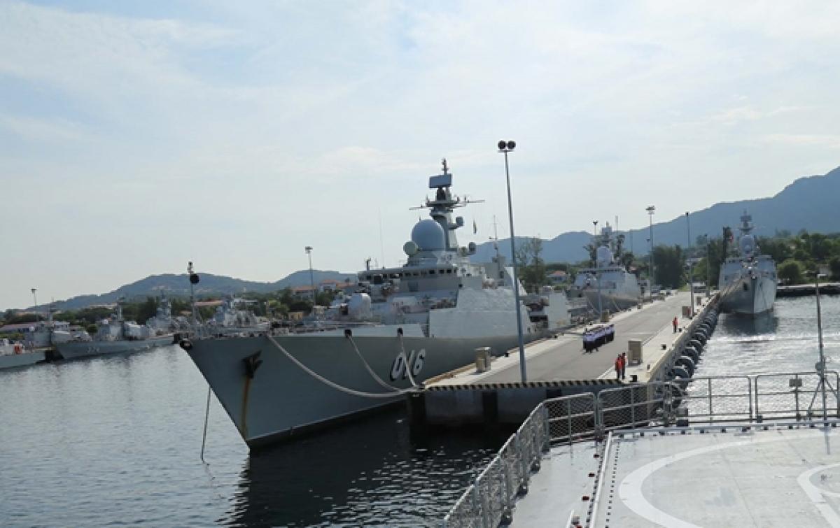 016 Quang Trung warship of Brigade 162 (Photo:qdnd.vn)