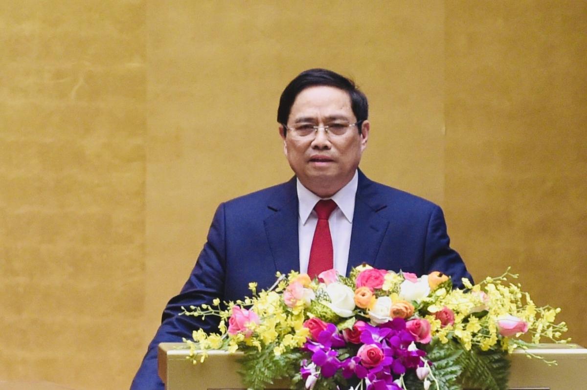 ÔngPhạm Minh Chính, Trưởng Ban Tổ chức Trung ương.