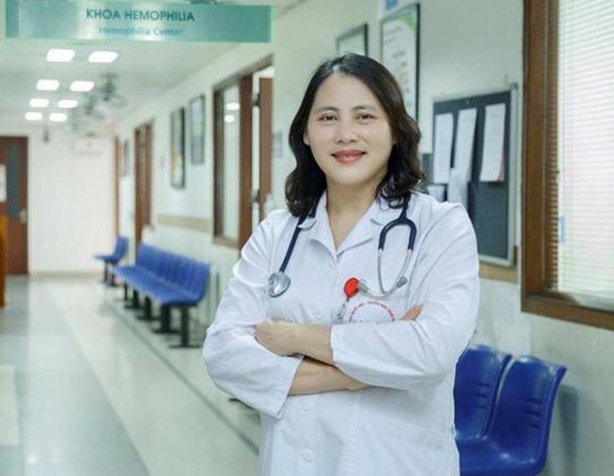 TS. Nguyễn Thị Mai, Giám đốc Trung tâm Hemophilia, Viện Huyết học – Truyền máu Trung ương.