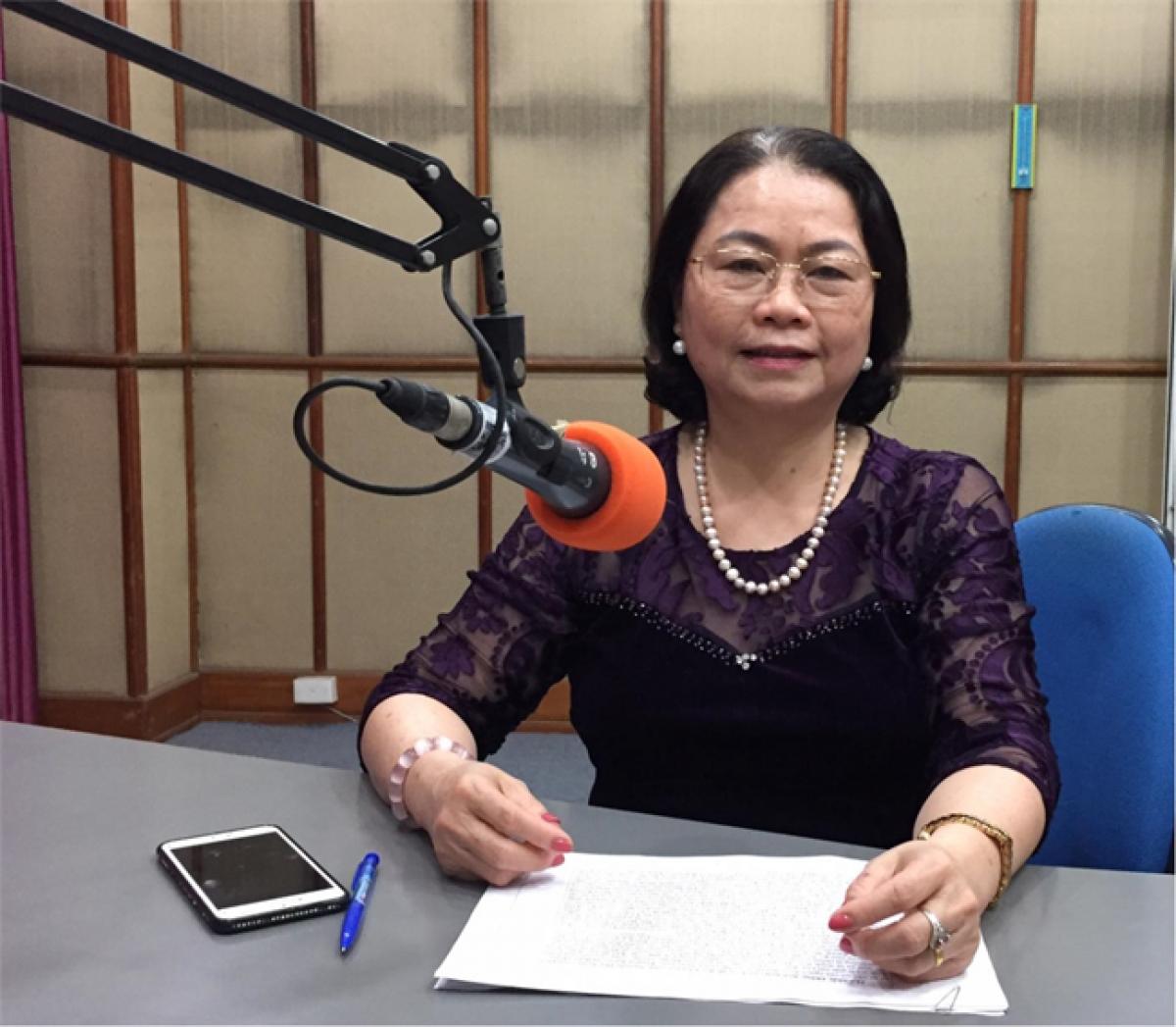 Phó Giáo sư, Tiến sỹ Nguyễn Thị Báo.