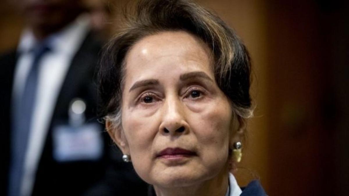 Bà San Suu Kyi. Ảnh: BBC.
