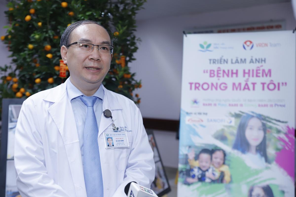 TS.BS.Vũ Chí Dũng, Trưởng khoa Nội tiết – Chuyển hóa – Di truyền, Bệnh viện Nhi Trung ương.