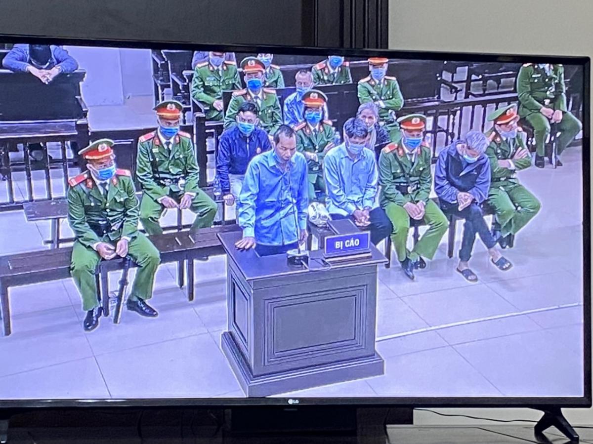 Bị cáo Lê Đình Chức tại phiên tòa