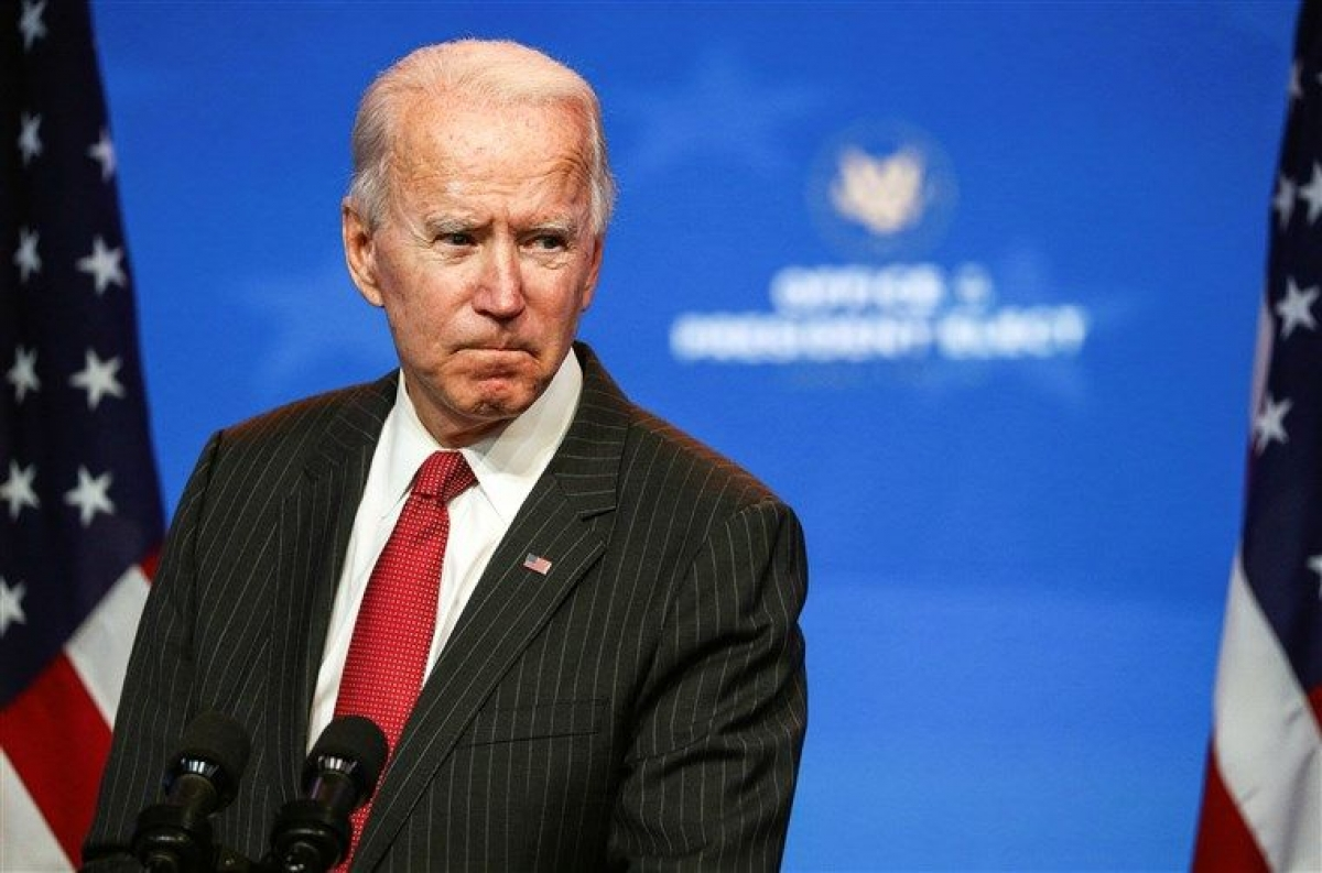 Tổng thống Mỹ Joe Biden. Ảnh Reuters.