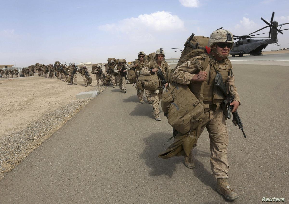 Binh sỹ nước ngoài tại Afghanistan. Ảnh: Reuters