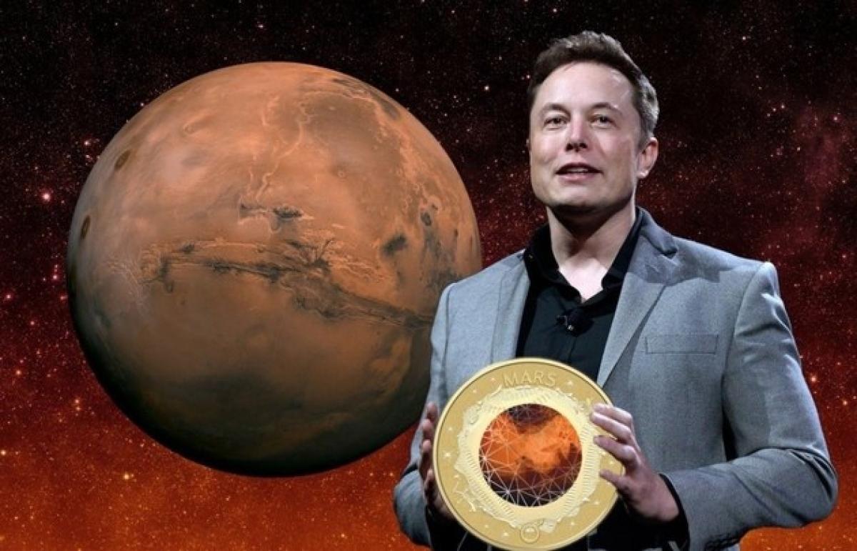 """Tỷ phú Elon Musk đầu tư lớn vào """"cuộc chơi"""" Bitcoin, và thậm chí còn muốn tạo ra đồng tiền số MarsCoin của riêng mình."""