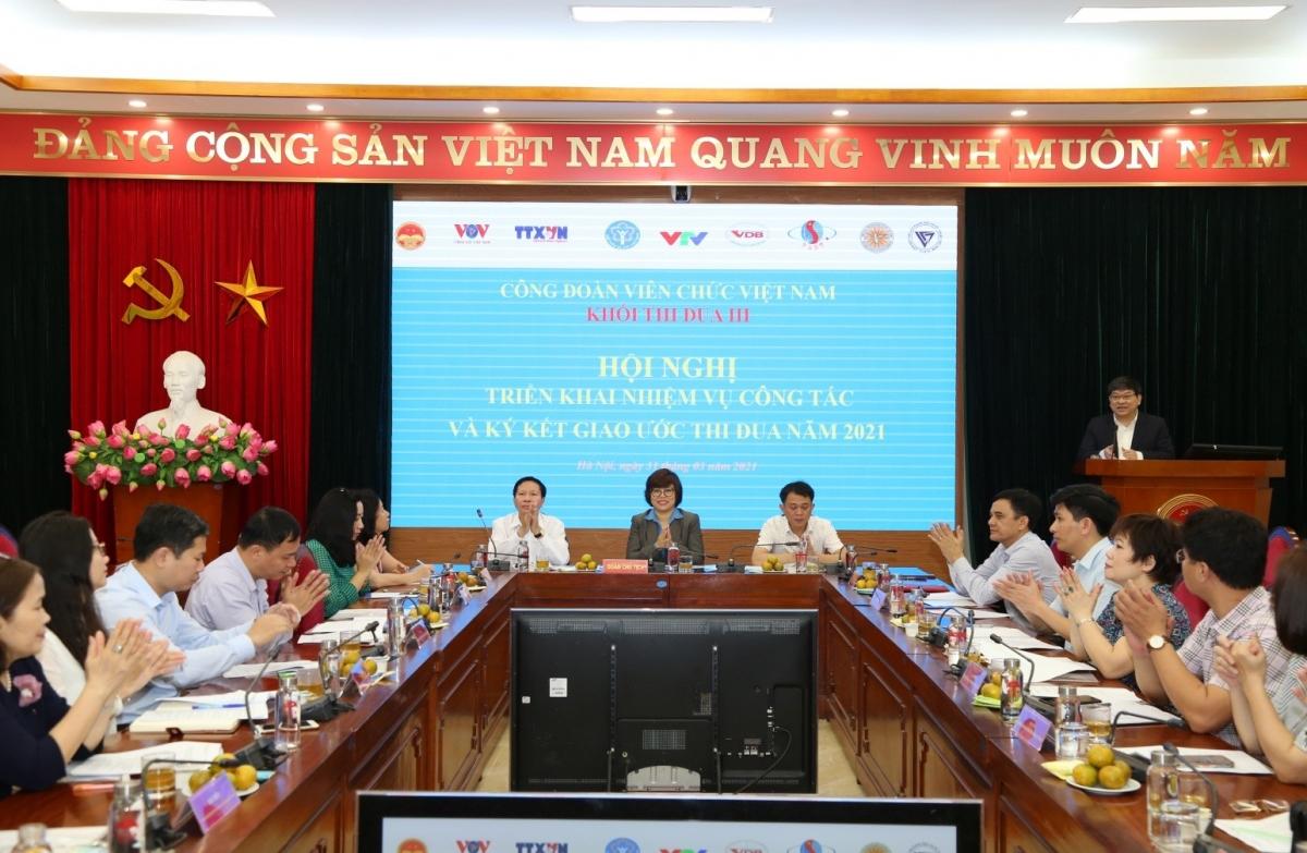 PGS, TS Nguyễn Duy Bắc, Phó Bí thư Đảng ủy, Phó Giám đốc Học viện Chính trị Quốc gia Hồ Chí Minh phát biểu chỉ đạo hội nghị.