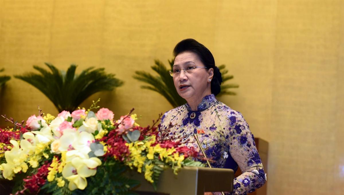 Chủ tịch Quốc hội Nguyễn Thị Kim Ngân. Ảnh: VGP