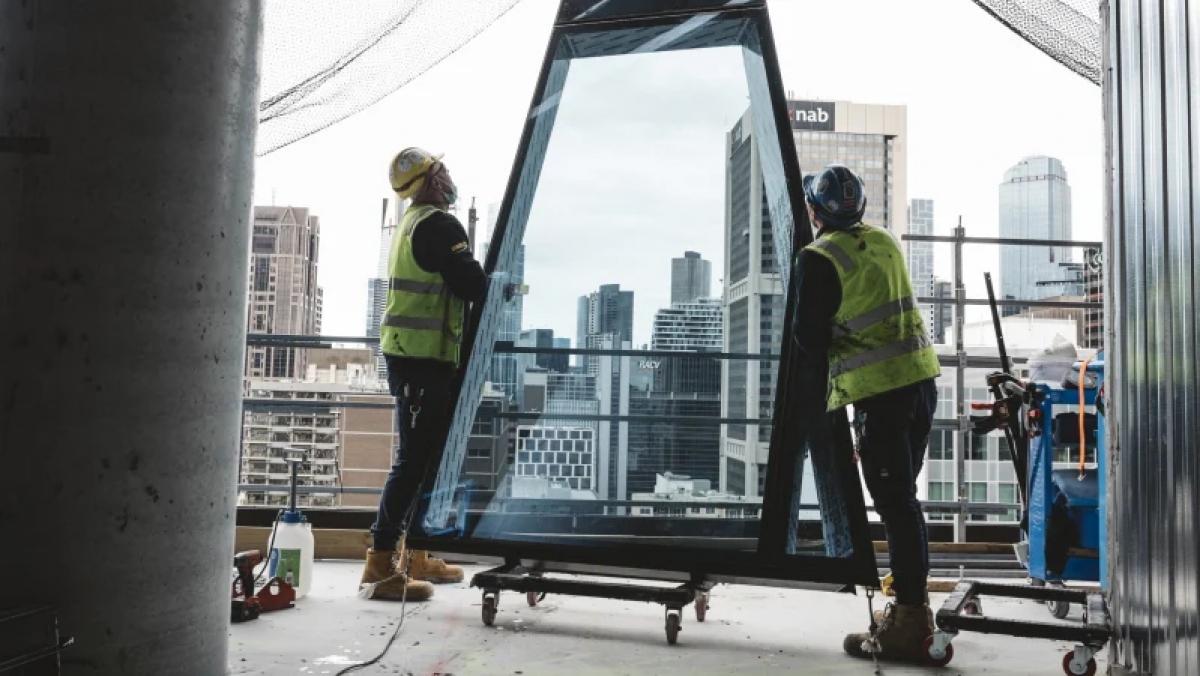 Công ty xây dựng Probuild đang thực hiện một số dự án quan trọng tại Australia như xây dựng trụ sở cảnh sát và xây dựng nhà máy sản xuất vaccine CSL. (Ảnh: TAS SORENSEN)