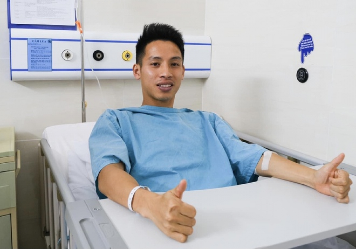 Vietnamese midfielder Do Hung Dung may be discharged from hospital in two days.
