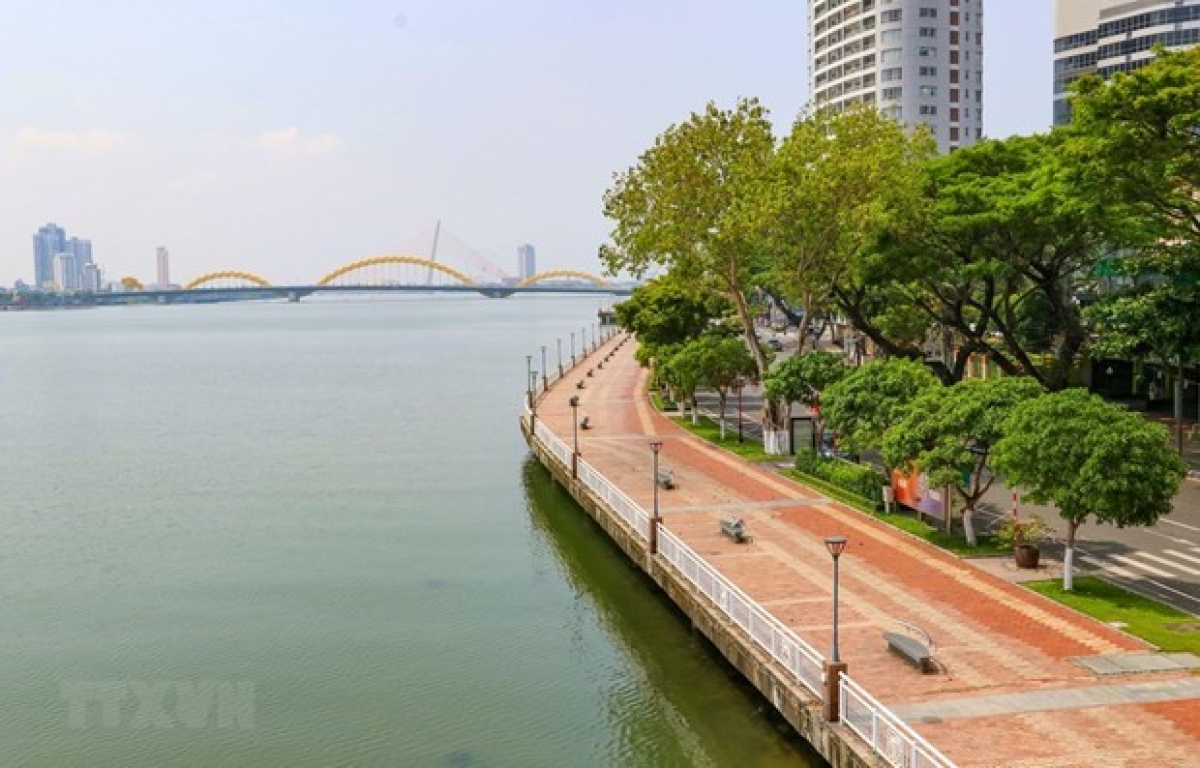 A corner of Da Nang city