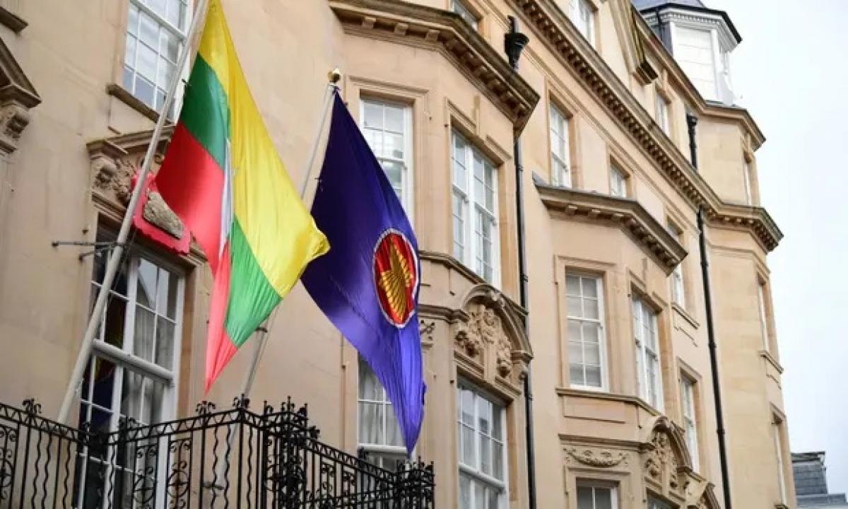 Đại sứ Myanmar tại London (Anh). Ảnh: PA.