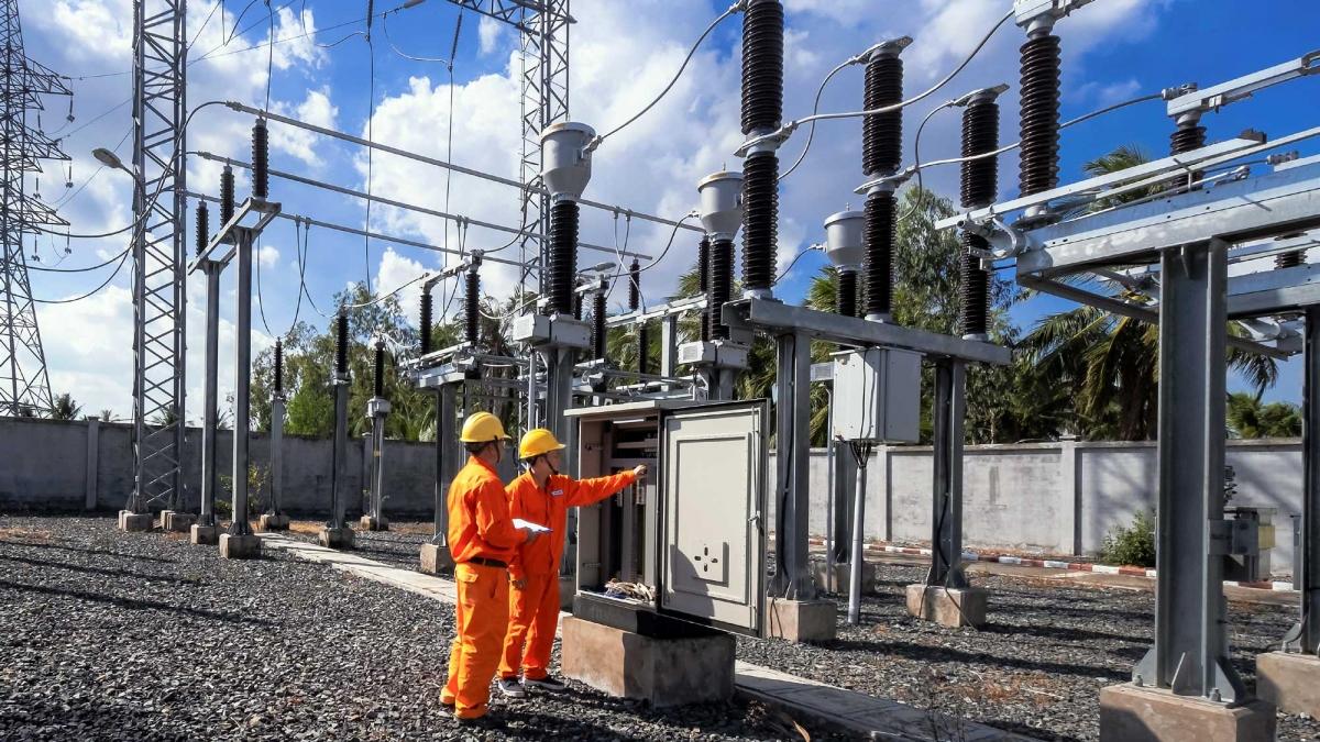 EVNSPC đã chủ động những phương án đảm bảo cung cấp điện liên tục cho khách hàng.