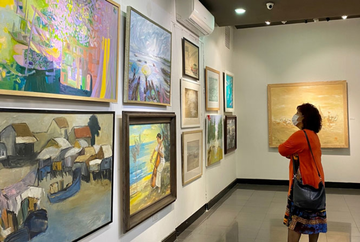 The event opens on March 1 at a gallery house located at 16 Ngo Quyen street in Hanoi.