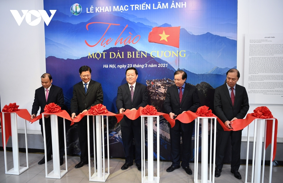 The exhibition opens following the launch of a photo contest run by the Ministry of Culture, Sports and Tourism and the Vietnam Association of Photographic Artists.