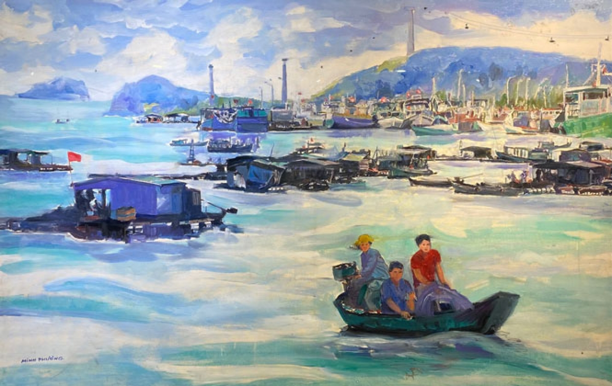 The main theme of the exhibition is to detail the daily lives of local people in fishing villages.