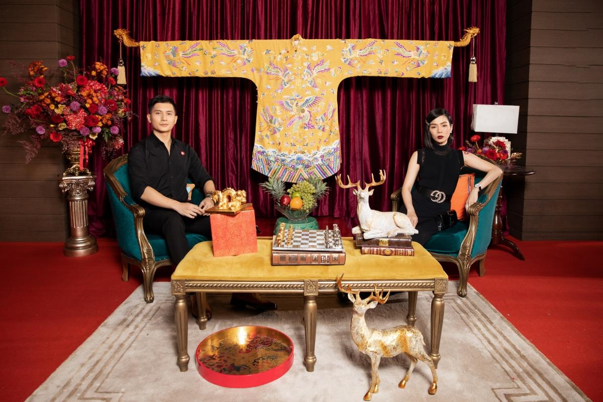 Nữ ca sĩ Lệ Quyên và Lâm Bảo Châu cũng góp mặt tại sự kiện.
