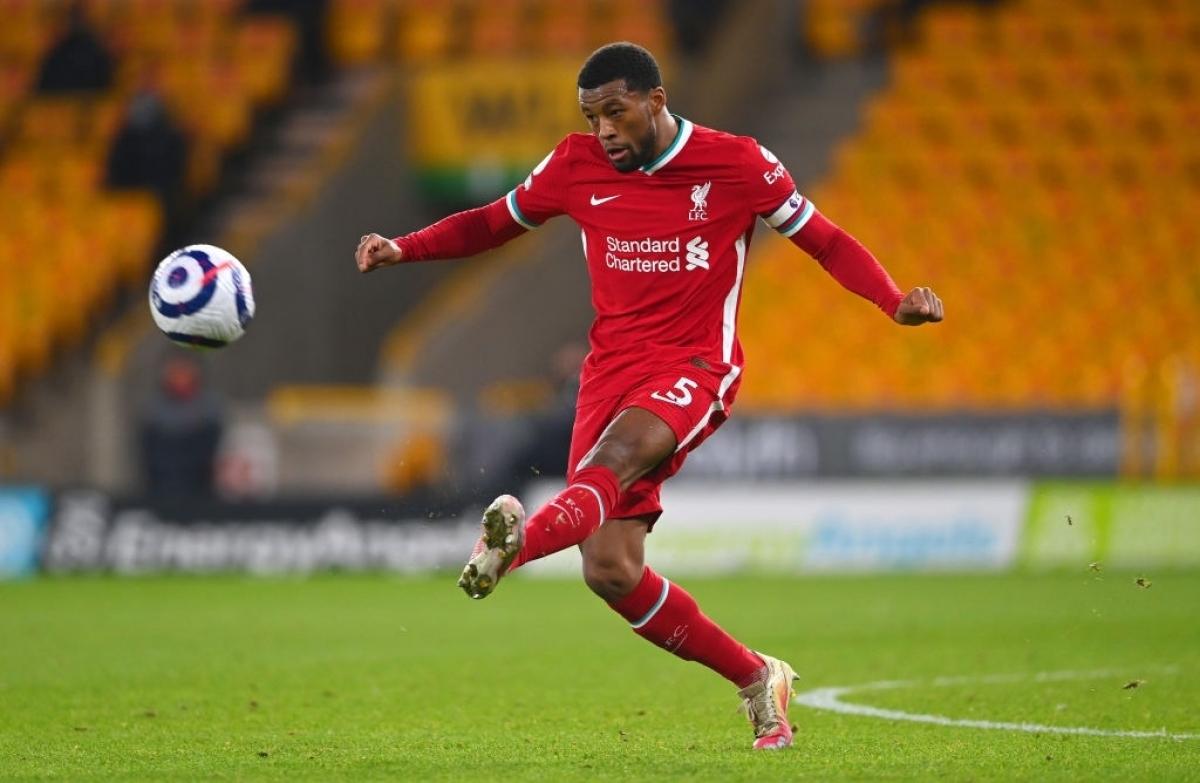 Georginio Wijnaldum chơi rất tốt trong màu áo Liverpool (Ảnh: Getty).