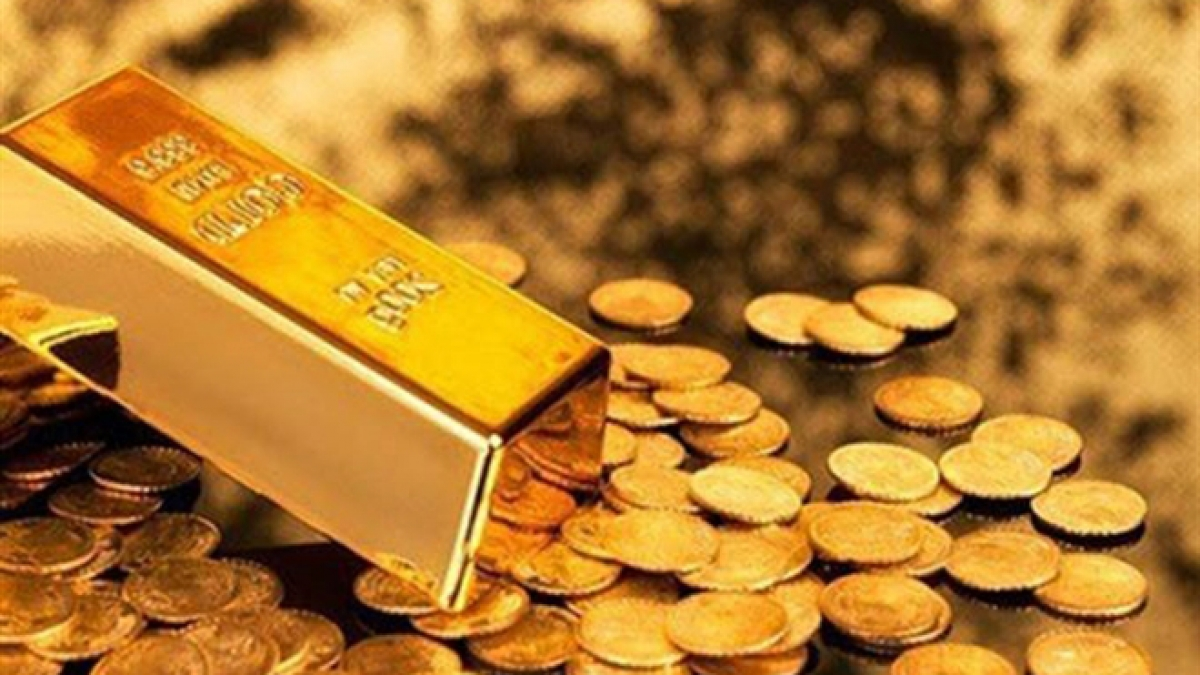 Đầu phiên giao dịch ngày 2/3, giá vàng thế giới tiếp tục giảm 20,6 USD/ounce, niêm yết ở mức 1.717,30 USD/ounce. (Ảnh minh họa: KT)