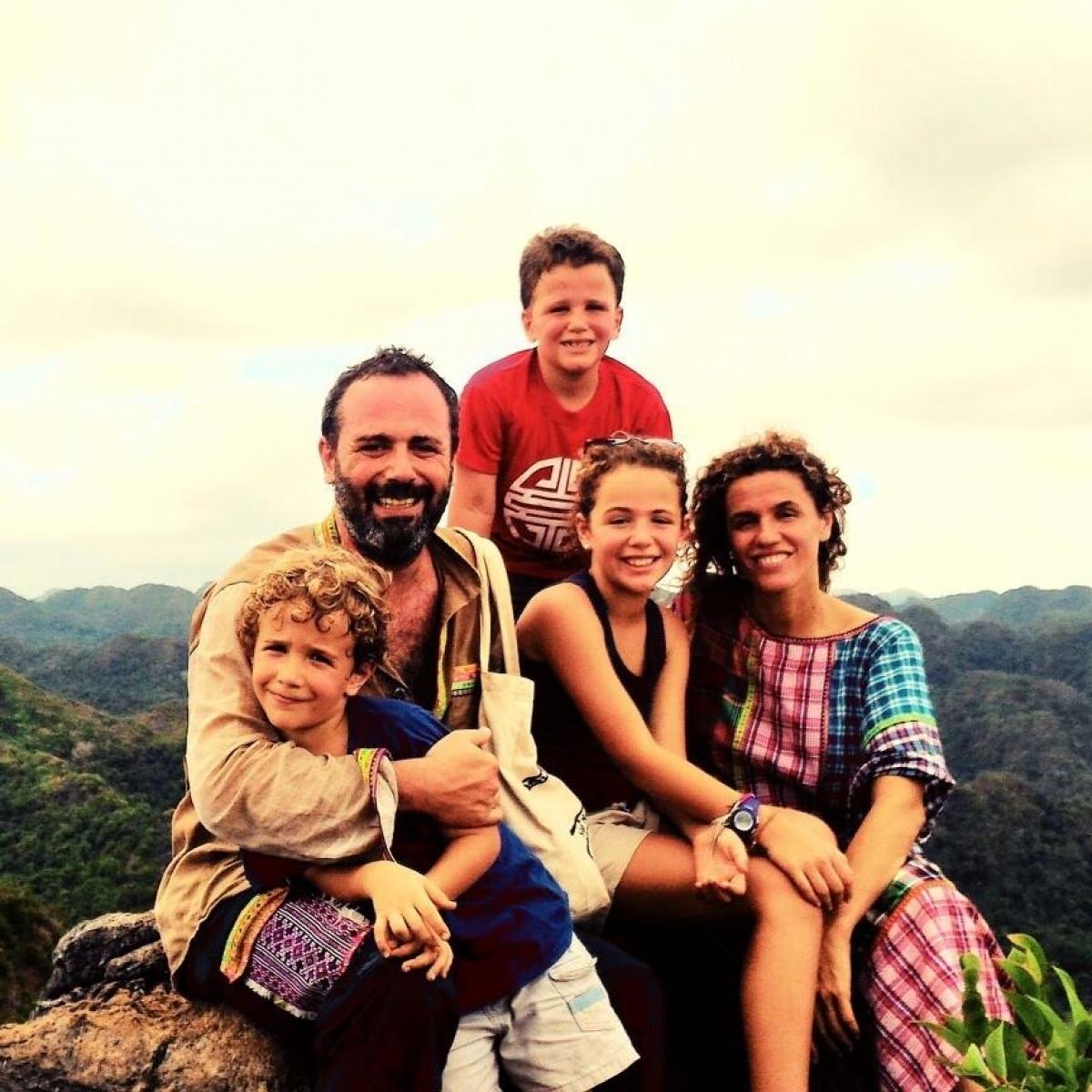 Diego Chula và cả gia đình đã định cư ở Việt Nam từ gần 20 năm qua.