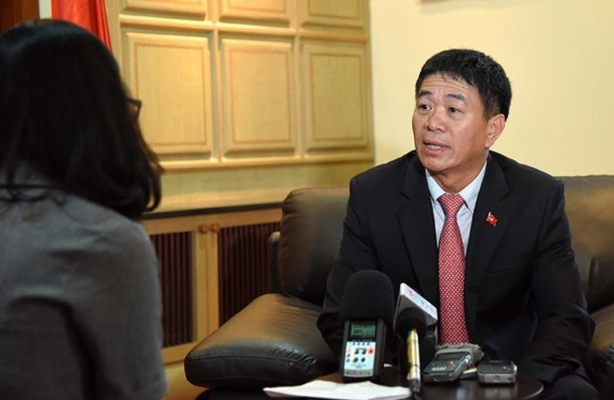 Ambassador Nguyen Hai Bang, Permanent Representative of Vietnam to ASEAN (Photo: VNA)