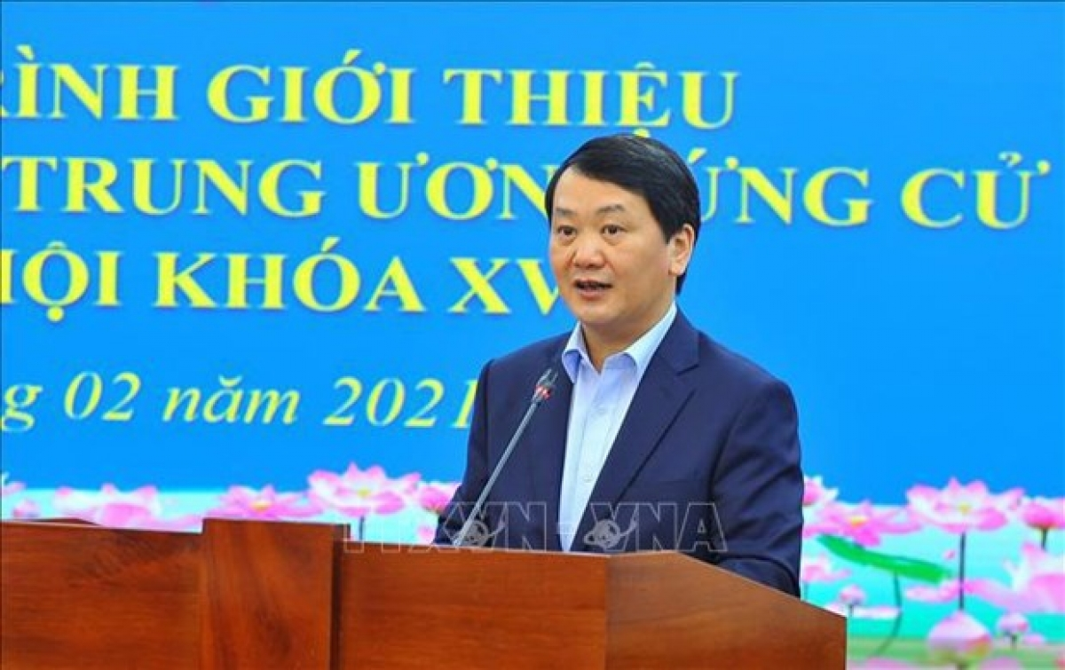 Hau A Lenh, Vice President and General Secretary of the Vietnam Fatherland Front Central Committee