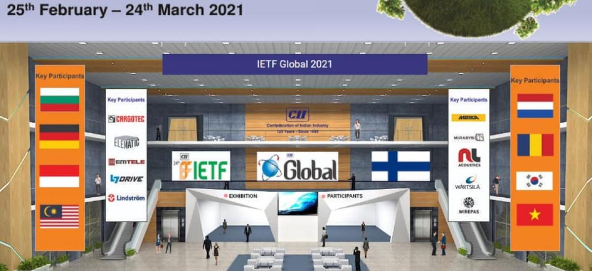 Hội chợ trực tuyến IETF 2021có sự tham dự của nhiều doanh nghiệp đến từ các nước trên thế giới.