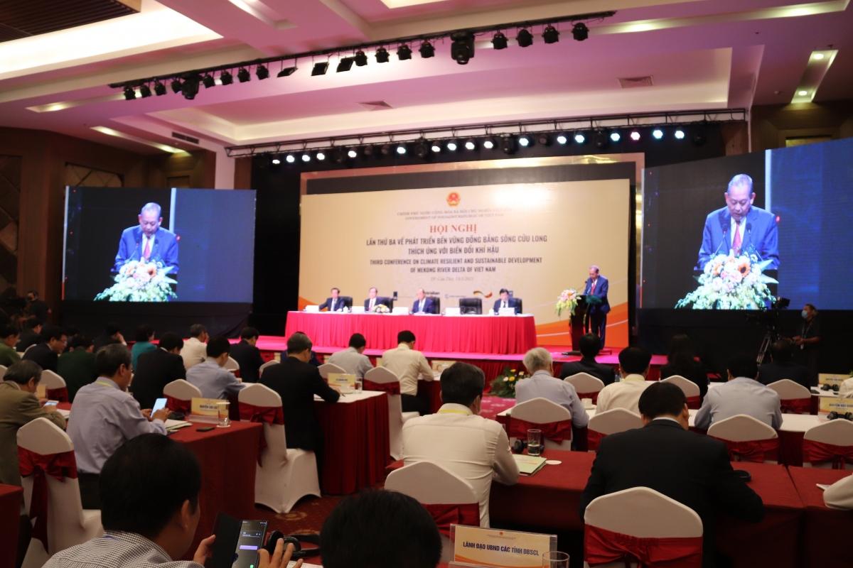 Hội nghị lần thứ 3 về phát triển bền vững ĐBSCL thích ứng với biến đổi khí hậu.