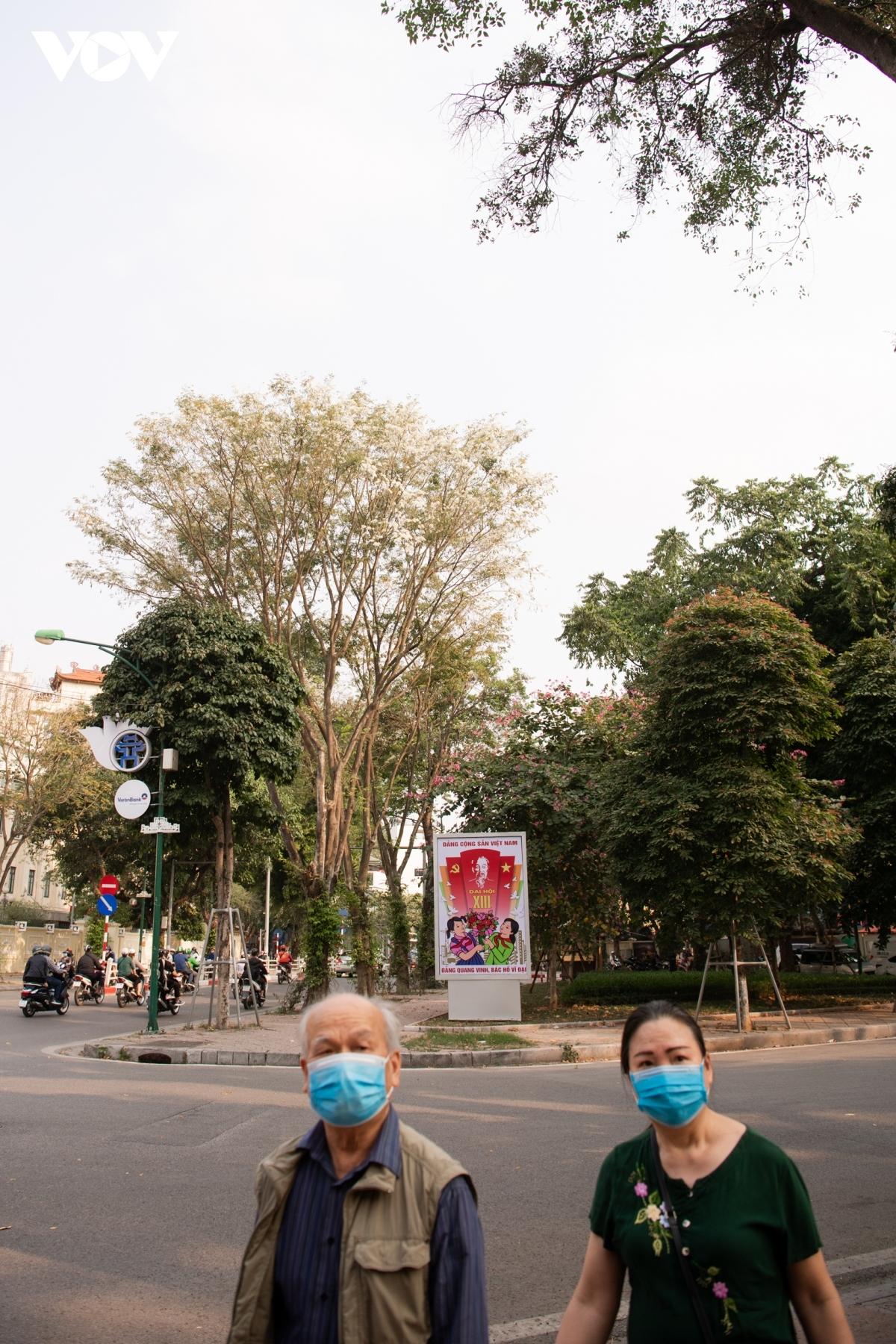 The view from Dien Bien Phu street